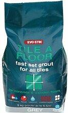 Evo Stik Fliese Eine Boden Schnelle Grout-Set für