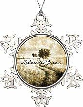 evryuiui Weihnachtsbaum-Dekoration, rustikal,
