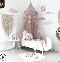 Evwing Nordic Style Princess Lace Kinderbett