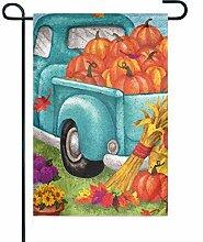 EW-OL Mode benutzerdefinierte Garten Flagge Herbst