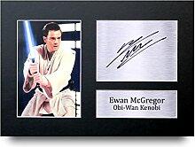 Ewan McGregor unterzeichnet A4Gedruckt