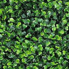 EWEE Künstliche Buchsbaum-Paneele mit UV-Schutz,