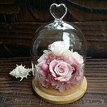 Ewige blume geschenk-box/rainbow red rose