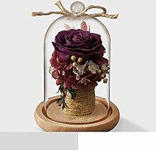 Ewige Blume Geschenkbox Glas Stieg Blumen