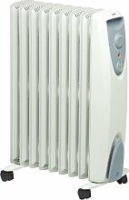 EWT Öko-Radiator / Thermostat / Kabelaufwicklung / Kontroll-Leuchte NOC eco 20 TLS