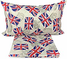ex family Bettbezug Flagge London Inglese Dis.