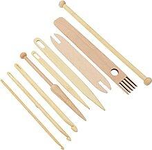 EXCEART 1 Set Holz Weaving Werkzeug Set Holz Weben