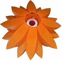EXCEART Orange Puzzle Anhänger Lampe Schatten