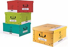 Excelsa 62451Set Aufbewahrungsbox aus Karton,