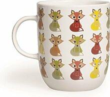 Excelsa Animals Tasse, 400ml, aus Porzellan,