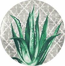 Excelsa Cactus Dessertteller, Porzellan, Grün
