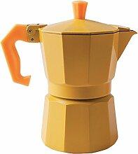 excèlsa Chicco Farbe gelb 1Tasse Kaffeemaschine