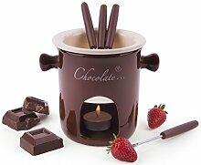 Excelsa Chocolate Dienst Fondue Schokolade 7,