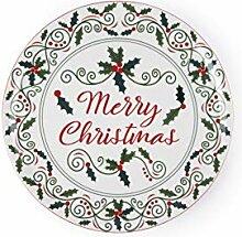 Excelsa Christmas Holly Kuchenteller/Portrait,
