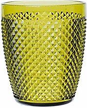 Excelsa Diamond Trinkglas, Kunststoff, Grün