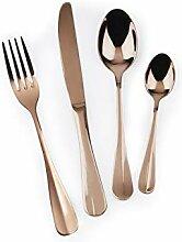 Excelsa Elite Copper Besteck-Set, 24-teilig, Stahl