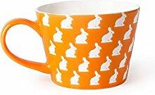 Excelsa Enjoy Tasse Jumbo 11 x 11 x 8 cm Arancione