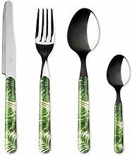Excelsa Foliage Besteck-Set, 24-teilig, Edelstahl