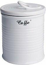 Excelsa Kaffee-Vorratsdose, 0,5Liter, China, White