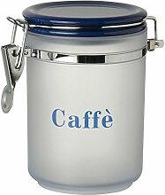 Excèlsa Koffee Vorratsdose, Kunststoff, blau