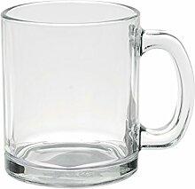 Excelsa Mug Zylindrische, Glas, transparent, 35cl
