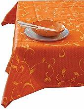 Excèlsa Orange Tischdecke, rechteckig, 140 x 240 Cm.