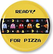 Excelsa Pacman Pizzateller 31 cm, Porzellan,