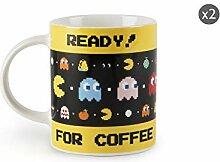Excelsa Pacman Set 2 Tassen aus Porzellan