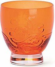 Excelsa Santa Cruz Becher CL 30, Glas, Orange, 8.5x 8.5x 9.5cm