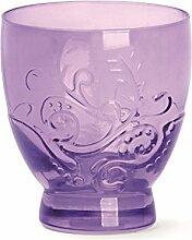 Excelsa Santa Cruz Becher CL 30, Glas, Violett, 8.5x 8.5x 9.5cm