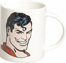 Excelsa Super Helden Mug Superman 8.9x8.9x9 cm Bianco