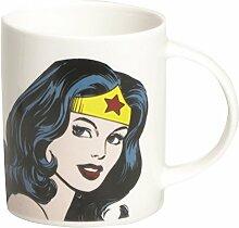 Excelsa Super Helden Mug Wonder Woman 8.9x8.9x9 cm Bianco