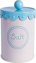 Excelsa Sweet Vorratsdose Salz, Metall, mehrfarbig, 700ml