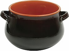 Excèlsa Terracotta braun Bombe'Blumentopf 21