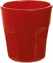 Excelsa Trendy Becher Kaffee 80ml, Keramik 6x6x6.3 cm ro