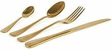 Excelsa Vintage Gold Besteck-Set, 24-teilig,