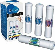Excito-ST Ersatzfilter Set Wasserfilter Kartusche Filter Umkehrosmose Osmoseanlage Trinkwasser Filteranlage Side by Side Kühlschrenk Filter Kartusche Osmose
