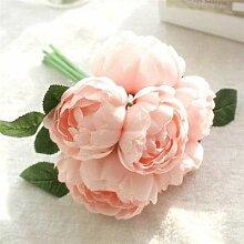 ExcLent Hochzeit Brautstrauß Pfingstrose Rose