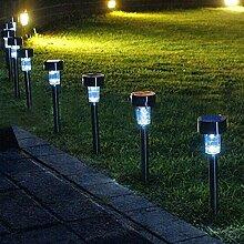exclura LED Gartenstecker Solar Wegeleuchte Solar