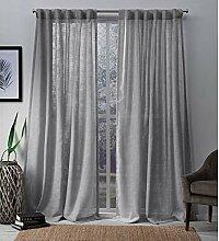 Exclusive Home Bella Fenster Vorhang-Paar mit