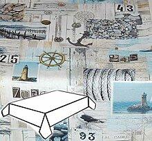 Exclusive Tischdecke 130x170 cm MARITIM Baumwolle