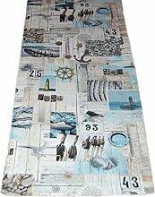 Exclusive Tischdecke 38 x 100 cm Maritim Baumwolle