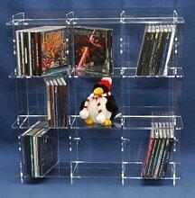 exclusives CD - Regal für 117 CD`S mit Hülle