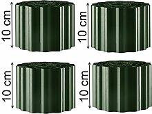 EXCOLO 36m Rasenkante in grün tannen 10cm hoch