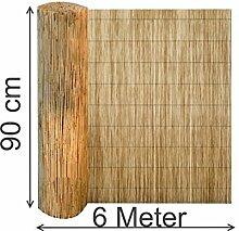 EXCOLO Schilfrohr 90 H x 600 cm L Schilf