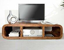 Exklusiver Design Tv-Tisch [Kiera] Aus Sheesham