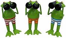 Exner Kleiner lustiger Deko-Frosch Garten-Deko