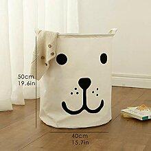 EXOOODO Wäschekorb Spielzeug