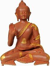 Exotic India Buddha-Statue Lord in Antik-Optik, Ro