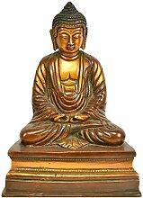 Exotic India Buddha-Statue, Messing